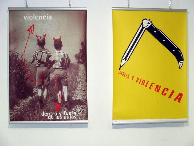 Inaugurada la exposici n de carteles sobre el acoso for Caja madrid es oficina internet