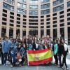 El IES Infanta Elena visita el Parlamento Europeo en Estrasburgo