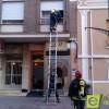 Falsa alarma de incendio en una vivienda