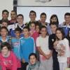 La plantilla del Montesinos CFS Jumilla visita a los alumnos del CEIP Príncipe Felipe