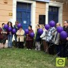 Jumilla conmemora el Día contra la Violencia de Género soltando 44 globos violeta