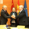 Jumilla firma el convenio para acogerse al programa de Regeneración y Renovación Urbana en presencia de la ministra de Fomento