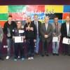 Los premiados del deporte jumillano reciben sus galardones con una inmensa alegría y con el respaldo de amigos y familiares