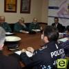 El delegado del Gobierno, Joaquín Bascuñana, ha presidido esta mañana la Junta Local de Seguridad Ciudadana