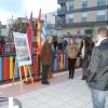 El alcalde presenta a los vecinos las actuaciones realizadas en la Plaza de la Alcoholera