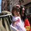 Cientos de jumillanos salieron a la calle para ver a Jesús entrar en la ciudad