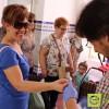 Más de un millar de personas se han realizado hoy las pruebas de glucosa en la sangre
