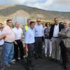 Fomento pone en servicio la nueva glorieta en la intersección de la carretera N-344 con el Camino de Almansa