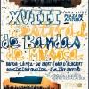 La Asociación Musical Julián Santos celebra mañana sábado el XVIII Festival de Bandas de Música