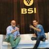 El cantante de Maldita Nerea, Jorge Ruiz, y el humorista Puebla apadrinan el vino solidario Numum de BSI