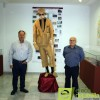 Un traje de esparto del año 1987 se expone como pieza del trimestre en el Museo de Etnografía Jerónimo Molina