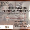 La Asociación de Artesanos de Jumilla organiza la II Jornada de Puertas Abiertas el próximo domingo
