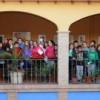 """Alumnos de los dos institutos de Jumilla participan en la visita guiada de la exposición """"Pintura por Pintura"""""""