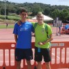 Martín Ortiz, 18º de España en los 400 metros vallas, y Juan González medalla de oro en relevos