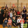 Los alumnos del colegio Cruz de Piedra, continúan los preparativos para la fiesta de Halloween