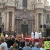 La Junta central de Hermandades de Semana Santa de Jumilla, asiste un año más a las Jornadas Diocesanas de Hermandades y Cofradías en Murcia