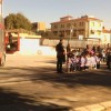 Los bomberos neutralizan un derrame de combustible en la caldera de un colegio de Jumilla.