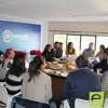"""El Comité Ejecutivo del Partido Popular comparte """"desayuno atípico"""" con los medios de comunicación de Jumilla"""