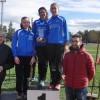 El equipo júnior femenino formado por Ángela Carrión, Andrea Pardo y María Victoria Martínez logra la clasificación para el Campeonato de España de Cross por Equipos.