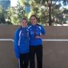 Medallas para Ángela Carrión y Mirian Carcelén en el Campeonato Regional Absoluto de Pista de Invierno.