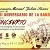 La Asociación Musical Julián Santos celebra el concierto del XXXIII Aniversario de la Bandera