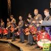 Las marchas de las cornetas y tambores emocionan al Vico en el VIII Certamen de Bandas