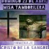 La Misa Homenaje al Cristo de la Sangre cierra los actos de Semana Santa de la Asociación Cristo de la Sangre