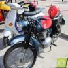 Las Motos Clásicas se lucen en la Plaza de la Alcoholera