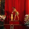 Este domingo se celebra la ofrenda de flores al Cristo Amarrado a la Columna