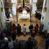 El sábado se celebró la Adoración Nocturna en el Monasterio de Santa Ana