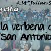 La Banda Juvenil de la Asociación Musical Julián Santos te invitan a la Verbena de San Antonio