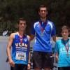 Sergio Domínguez y Juan Carlos Guardiola se proclaman Campeones Regionales Juveniles de 1.500 metros lisos y salto de altura en Yecla