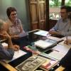 La alcaldesa retoma asuntos con el consejero de Fomento y el director general de Bienes Culturales