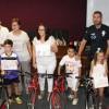 Entregadas ocho bicicletas en la clausura de la Campaña de Educación Vial Escolar