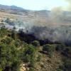 Efectivos del Plan Infomur consiguen extinguir rápidamente un incendio en La Alberquilla (El Carche)