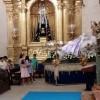La patrona de Jumilla, la Virgen de la Asunción, agasajada con la Santa Misa en su honor