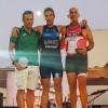 Pepe Bernabeu y Pascual Burruezo campeones en sus respectivas categorías en el Triatlón de Agramón.