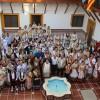 Jumilla recibe a representantes de las ciudades invitadas a la Ofrenda de Uvas y primer mosto