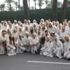 La Coral Jumillana Canticorum participó en el desfile de Moros y Cristianos de Santa Pola