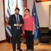 La Alcaldesa de Jumilla se reúne con el Presidente de la Comunidad