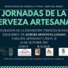 La Casa del Artesano  acoge este fin de semana la Jornada de la Cerveza Artesana y la inauguración de 'Perfiles humanos y equilibrio'