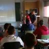 Los Bomberos del CEIS ofrecen una charla educativa en el CIFEA de Jumilla