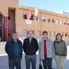 Las banderas de Jumilla, Murcia y España ya lucen en los centros Carmen Conde y Principe Felipe