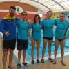 Representantes del Club Natación Jumilla presentes en el Campeonato Regional de larga distancia
