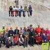 Un total de 27 alumnos acuden al curso de Espeleología del Grupo Hinneni