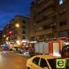 Incendio sin heridos en un edificio de la Avenida de Levante