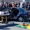 Dos turismos implicados en un accidente con dos heridos