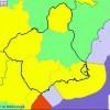 La AEMET activa de nuevo el aviso amarillo para el Altiplano por fuertes vientos