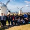 Los alumnos de 3º y 4º de la ESO del Arzobispo Lozano realizan la Ruta del Quijote