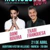 Dani Rovira actuará en Murcia el 21 de abril